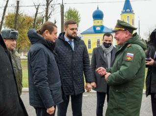 ДЕПУТАТЫ ГОСДУМЫ ПОСЕТИЛИ БАЗУ РОССИЙСКИХ МИРОТВОРЦЕВ В ПРИДНЕСТРОВЬЕ